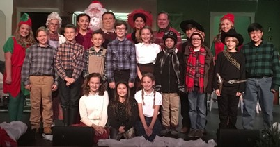 Christmas Story | Curtain's Up Theater Company